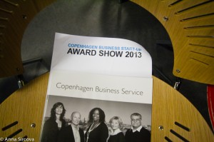 Copenhagen Business Start-up Award Show | Copenhagen, Denmark, 2013 | Commissioned by Copenhagen Business Service