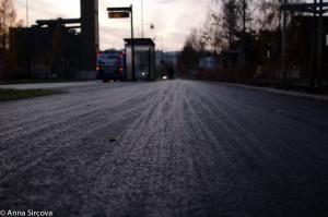 SPNP Umea bus station